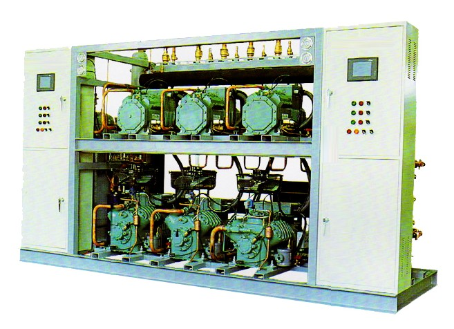 室内型并联压缩机组-武汉制冷机|湖北制冷机|湖北冷库